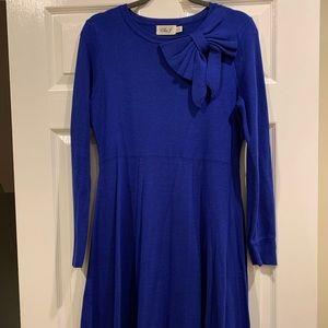 Bow accent Eliza J Sweater Dress
